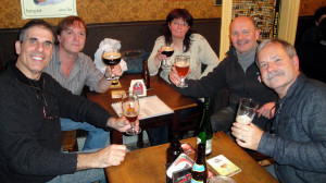 friends-sharing-a-few-beers-at-e28098t-brugs-beertje
