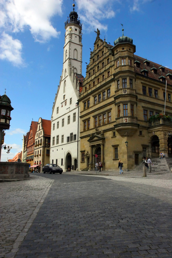 Rothenburg Germany Town Hall shutterstock_2190557
