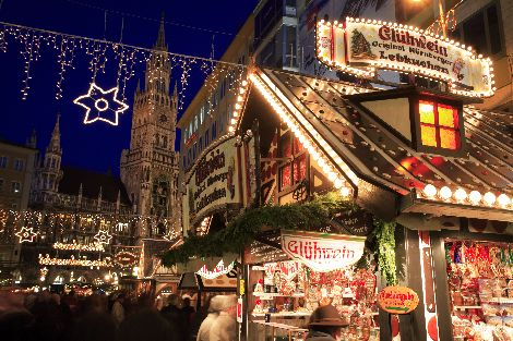 Christmas in Europe: German Christkindlmarkt