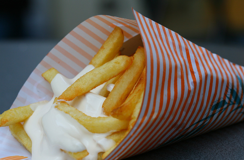 Don't order French Fries in Belgium!